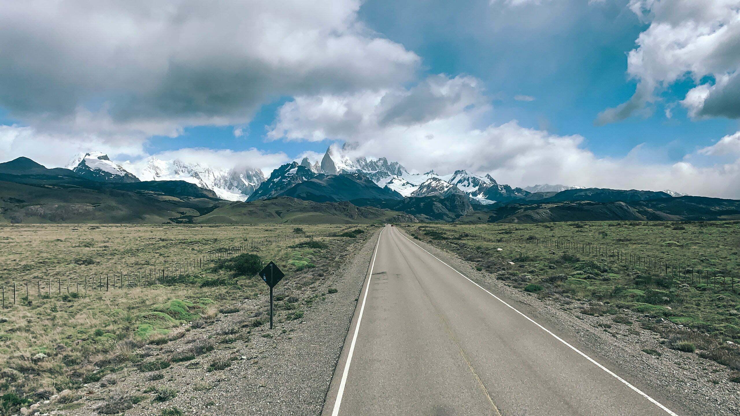 Strasse in Patagonien