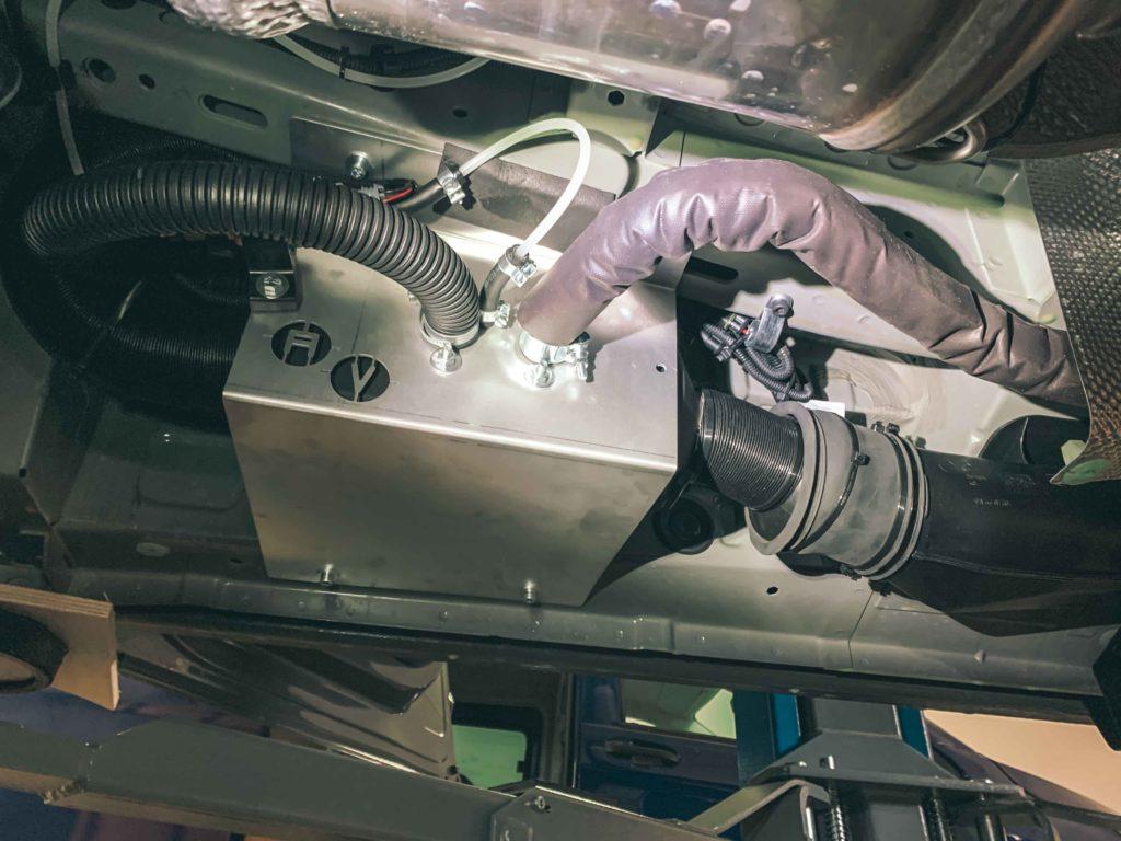 Autoterm 2D Standheizung eingebaut in einem VW T6.1