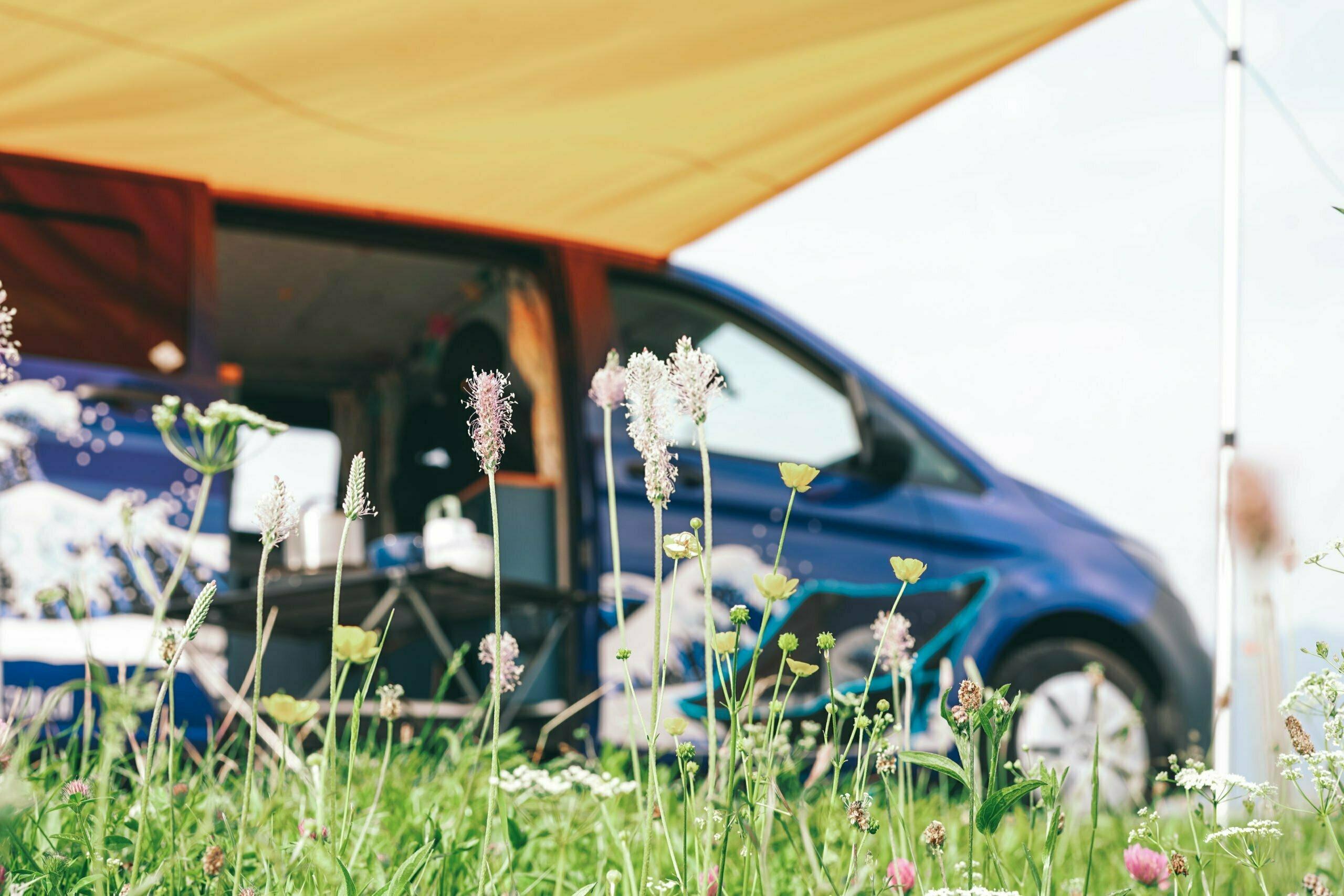 Camper Sonnensegel